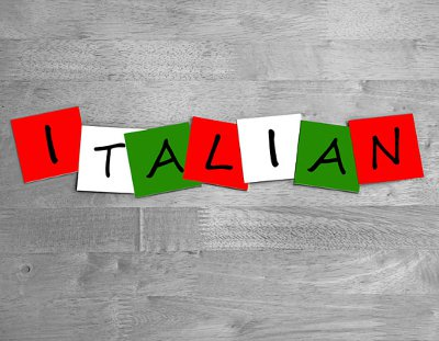 Italian language test